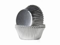 Cake cups Alu Zilver