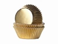 Cake cups Alu Goud