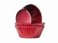 Cake cups Alu Rood