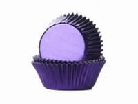 Cake cups Alu Paars