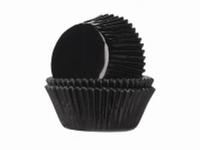 Cake cups Alu Zwart