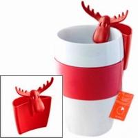 Koziol Minitasje Rudolf rood