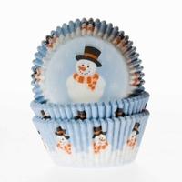 Cake cups Sneeuwpop