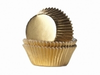 Cake cups Alu Goud Mini