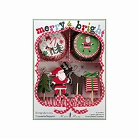 Cupcake Kit Merry & Bright Xmas