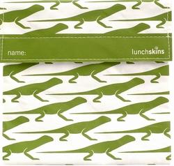 LunchSkins Sandwichbag Lizard