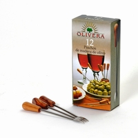 PURE OLIVE WOOD Pinchos prikkers