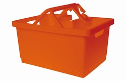 MyBasket fietsmand Orange
