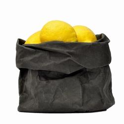 UASHMAMA Paper Bag M - Zwart