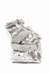 UASHMAMA Paper Bag M - Zilver