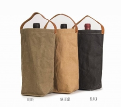 UASHMAMA Wine Bag Naturel