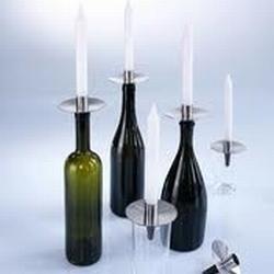 Cappo kaarsenhouder fles