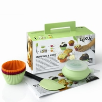 LEKUE Muffin & Kids Set