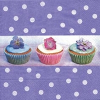Servetten Cupcakes