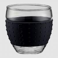 BODUM PAVINA Glas 0,1L - zwart