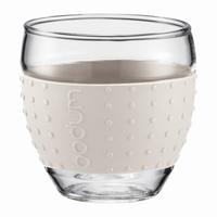 BODUM PAVINA Glazen 0,35L Wit
