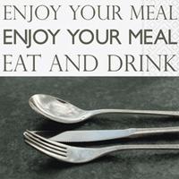 Servetten Enjoy your meal