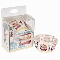 Cake cups I Love London