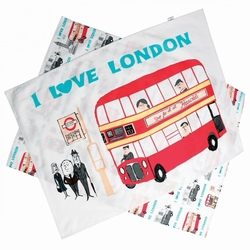 I LOVE LONDON Theedoekenset