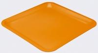 ZAK! Vierkant bord groot, oranje