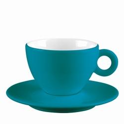 ZAK! Espressokopje aqua/wit