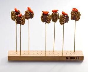 Bamboe showboard / presentatieplank
