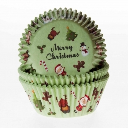Cake cups Merry Christmas