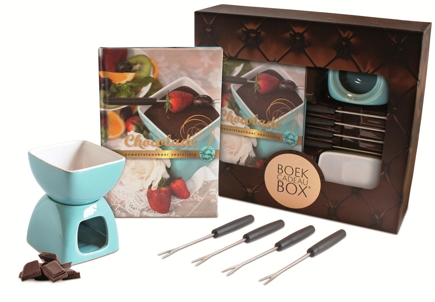 Chocolade Fondue Boekbox