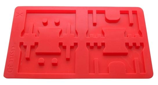 Chocoladevorm 3D Castle