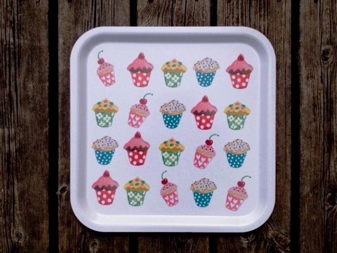 Dienblad Cupcakes