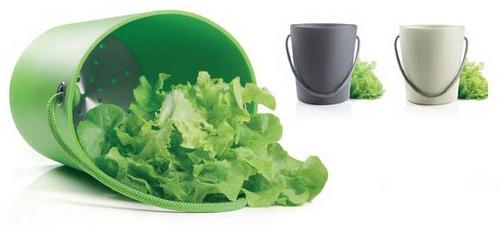 EVA SOLO Salad Spinner grijs
