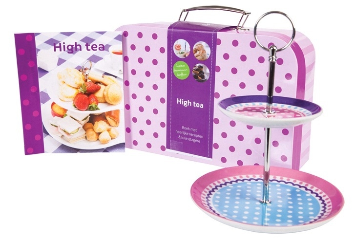 High Tea Bewaarkoffer Boekbox