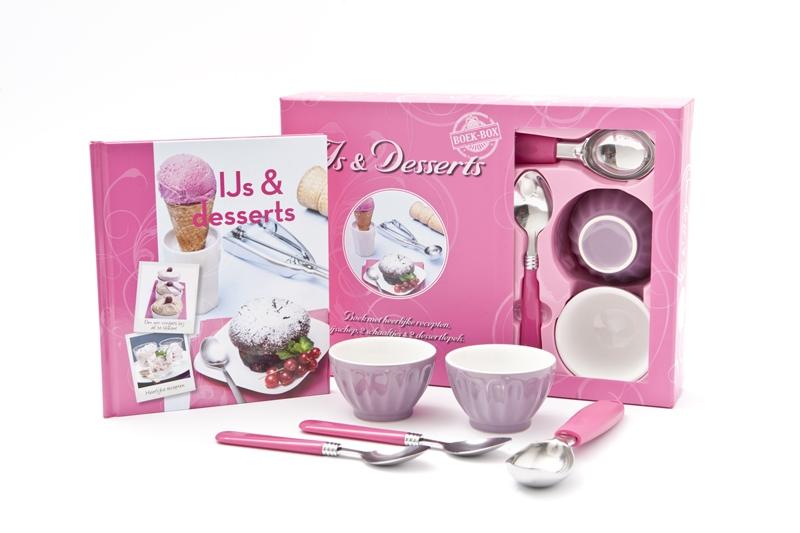 IJs & Desserts boekbox
