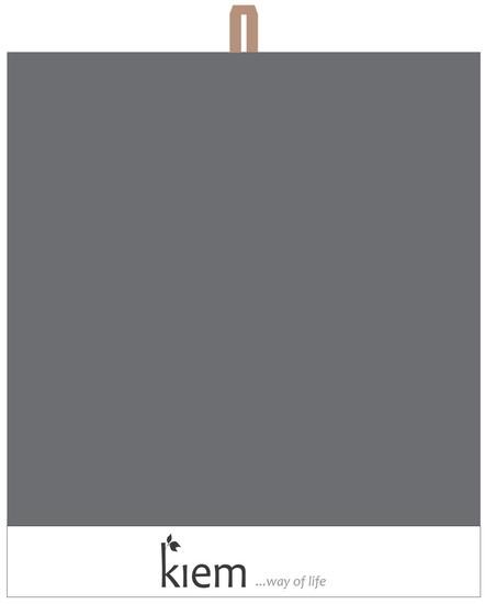 KIEM Keukendoek Grey