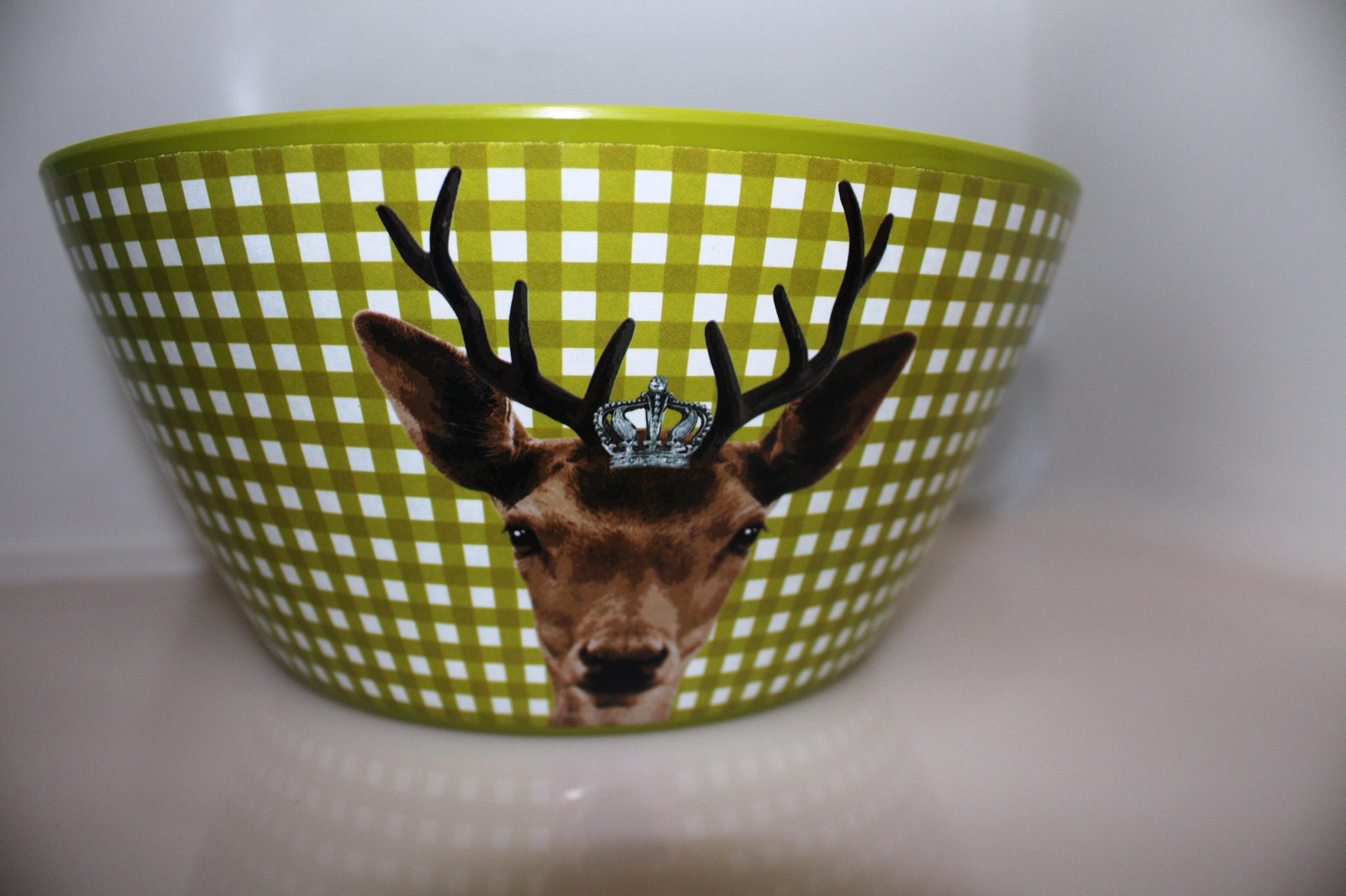 Kitchen Queen Schaal Deer