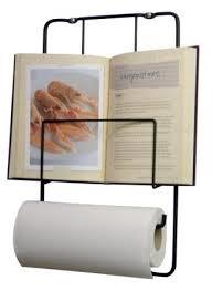 Kookboek standaard / keukenrol houder