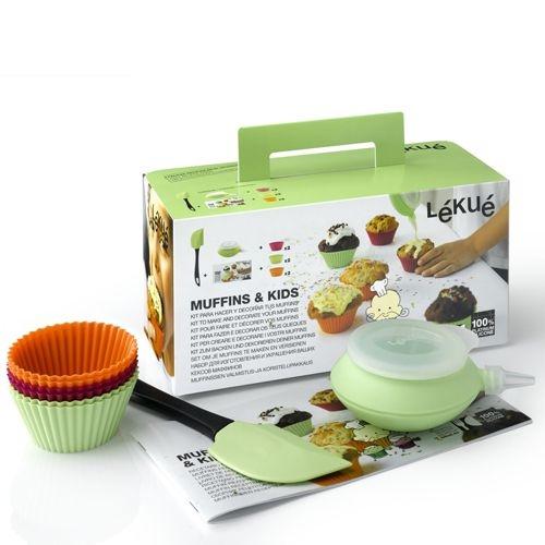 LEKUE Muffin & Kids Set