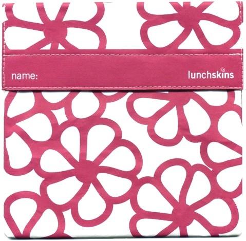 LunchSkins Sandwichbag Bloem