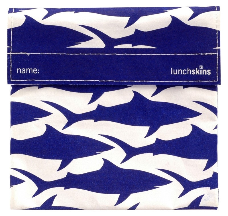 LunchSkins Sandwichbag Haai