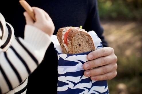 LunchSkins Sandwichbag Krab