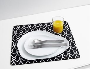 Mette Ditmer Placemat Hold my Hand