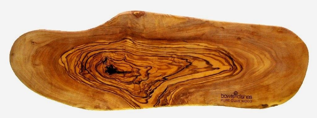 PURE OLIVE WOOD Tapasplank 50-55cm
