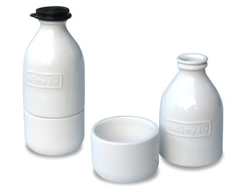 Retro suiker & melk set