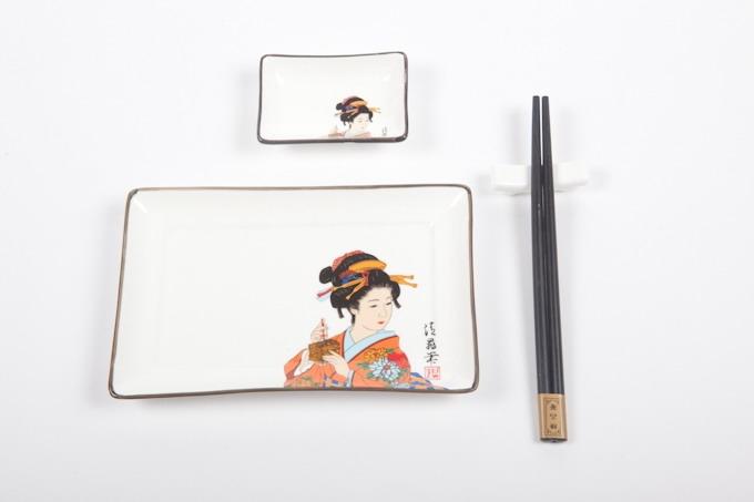 Sushi set Geisha