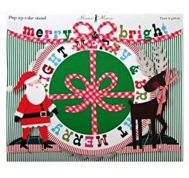 Taartschaal Merry & Bright Xmas