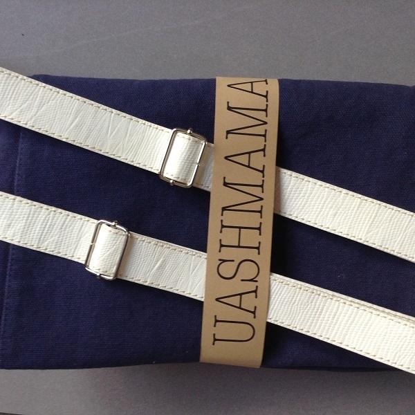 UASHMAMA Schort+Bretels - Marine