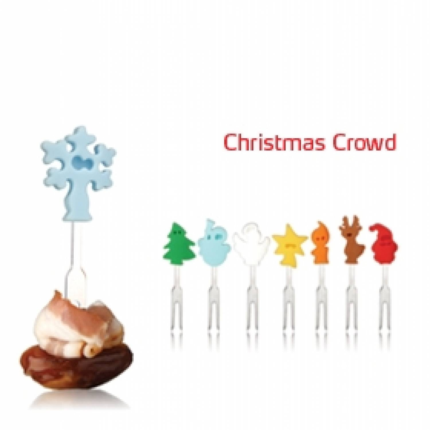 VACUVIN Snackmarkers Christmas