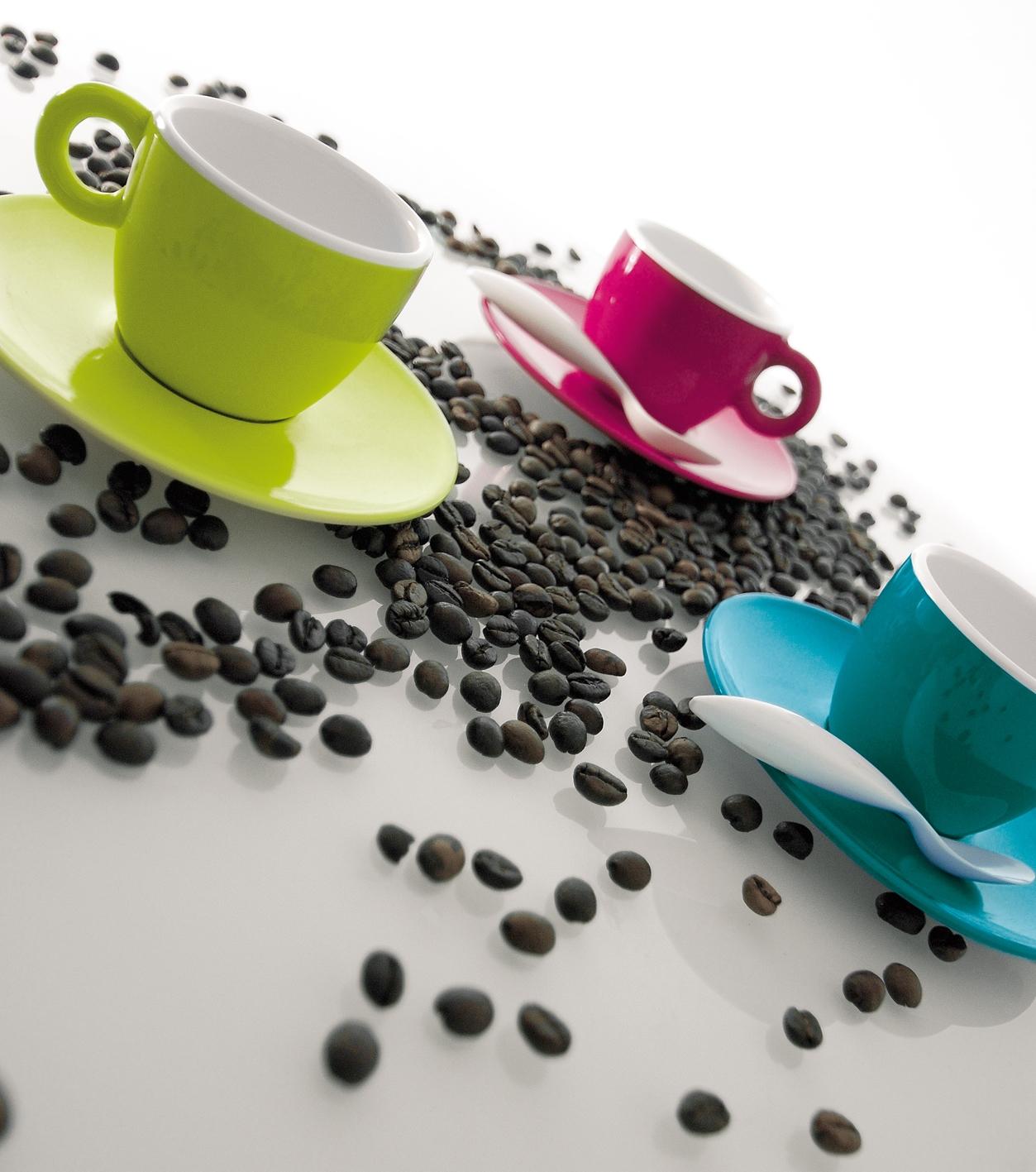 ZAK! Espressokopje fuchsia/wit