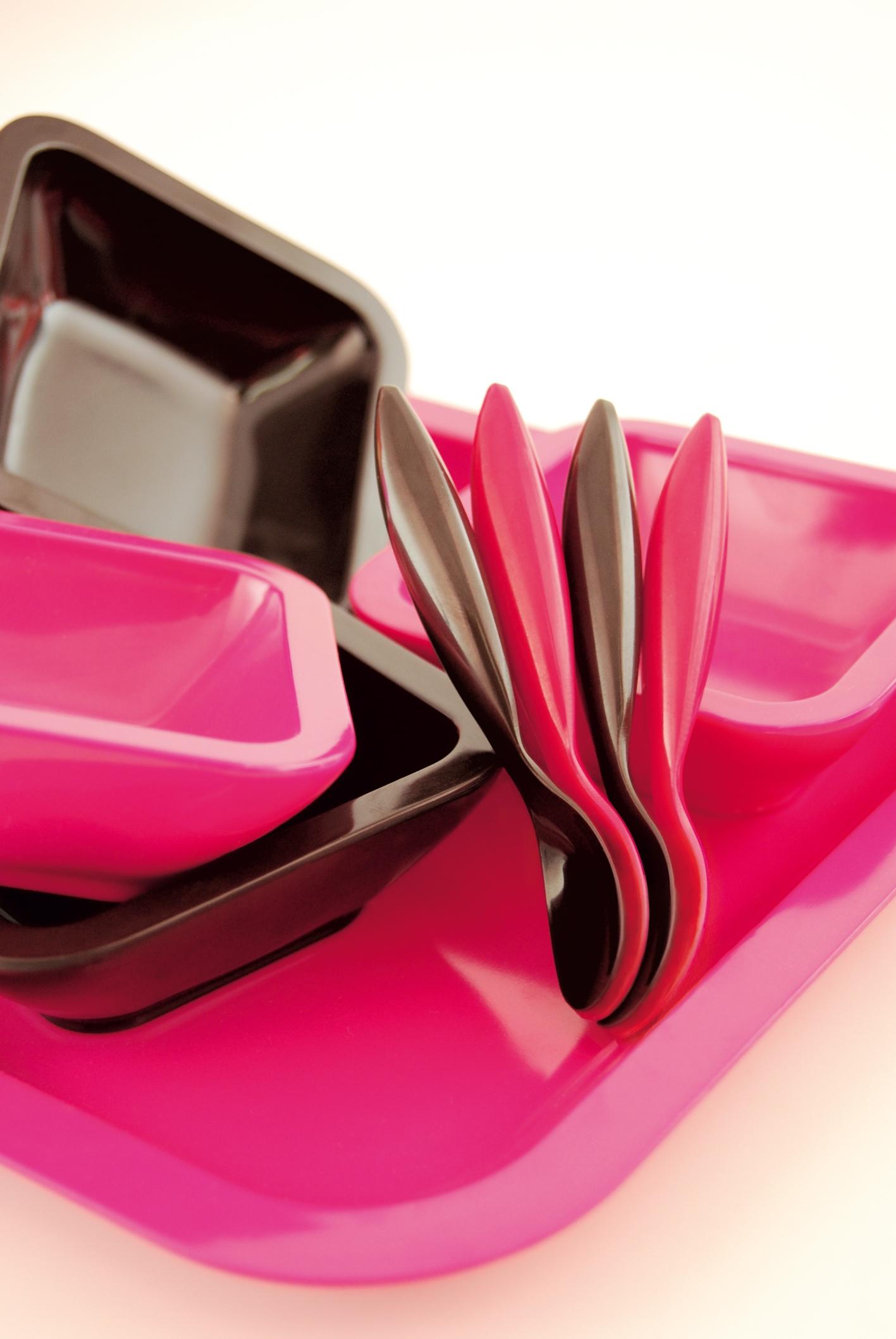 ZAK! Serveerschaal, chocolate