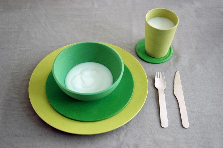 Zuperzozial Dinerbord Lemony Yellow